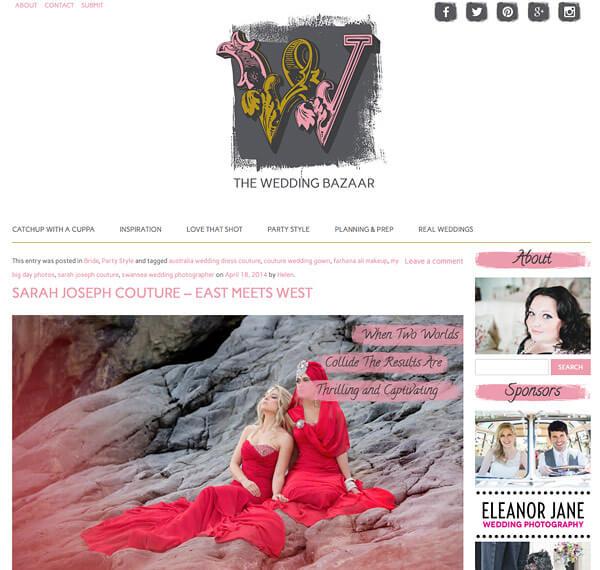 The Wedding Bazaar blog