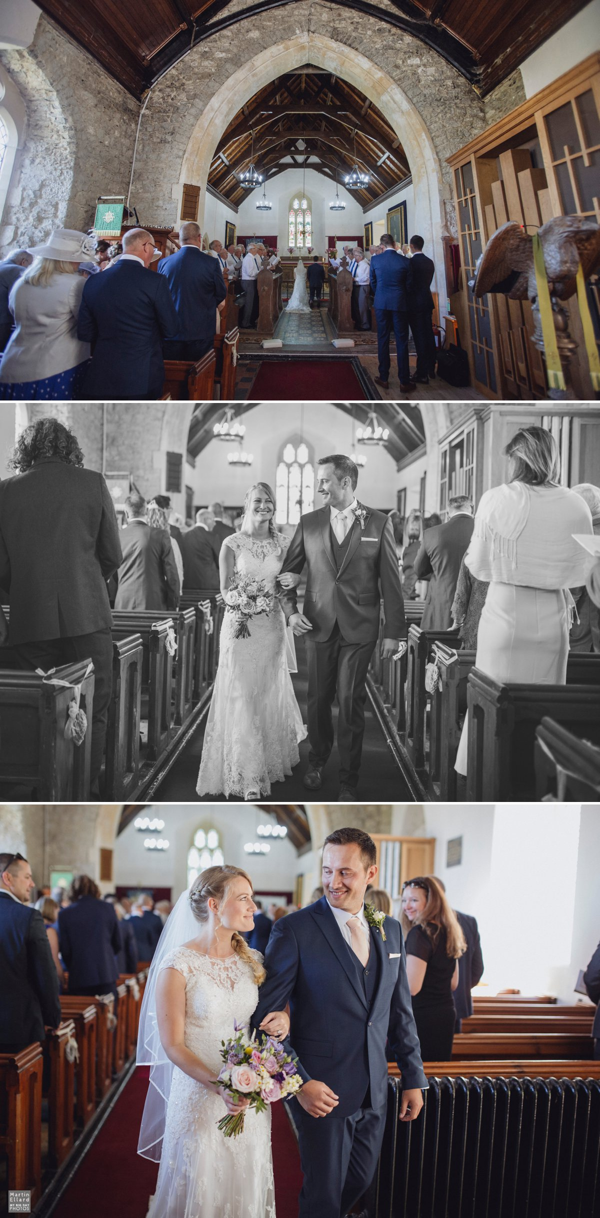 Debbie and Mat's King Arthur wedding