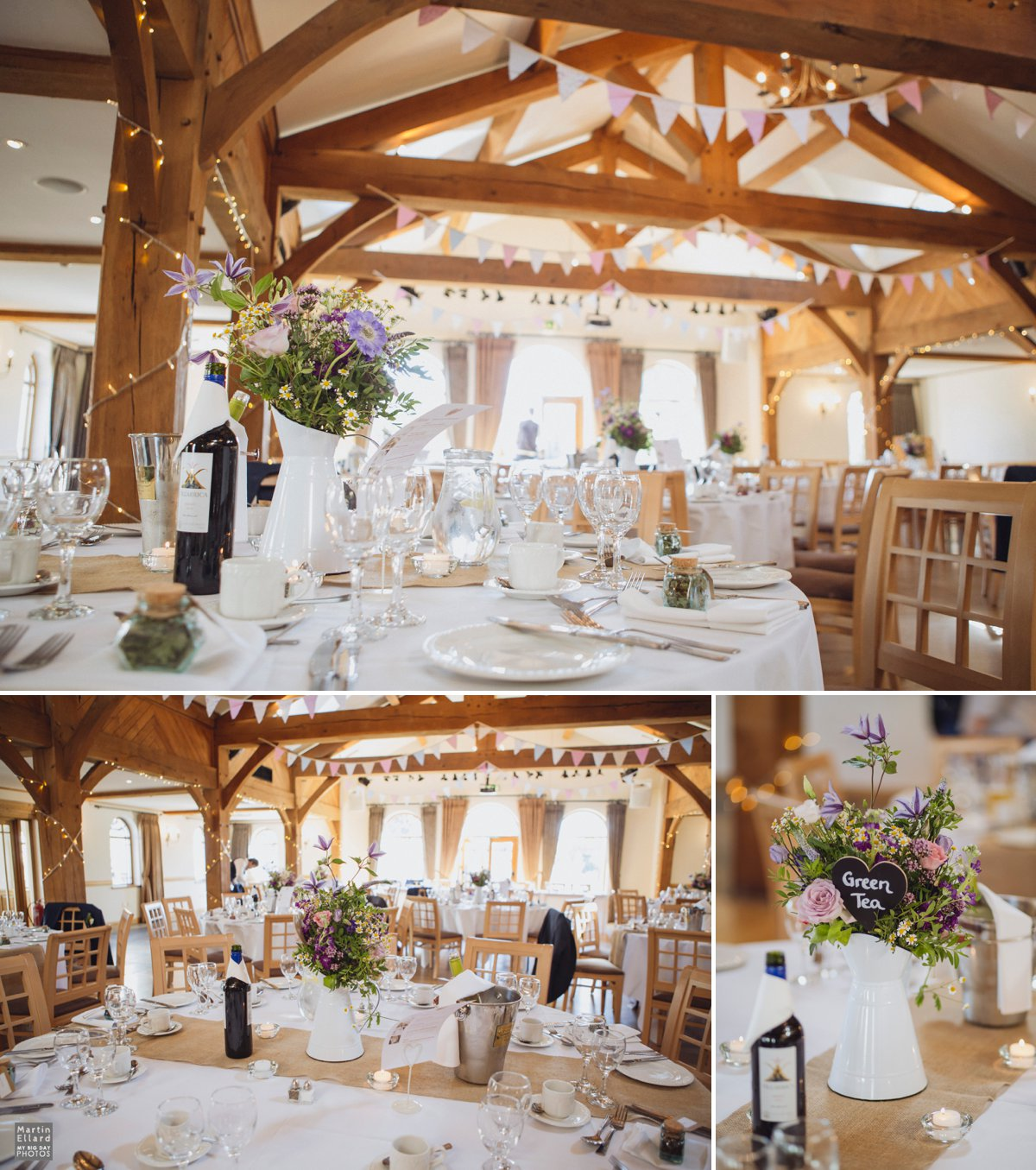 The King Arthur Hotel rustic wedding style