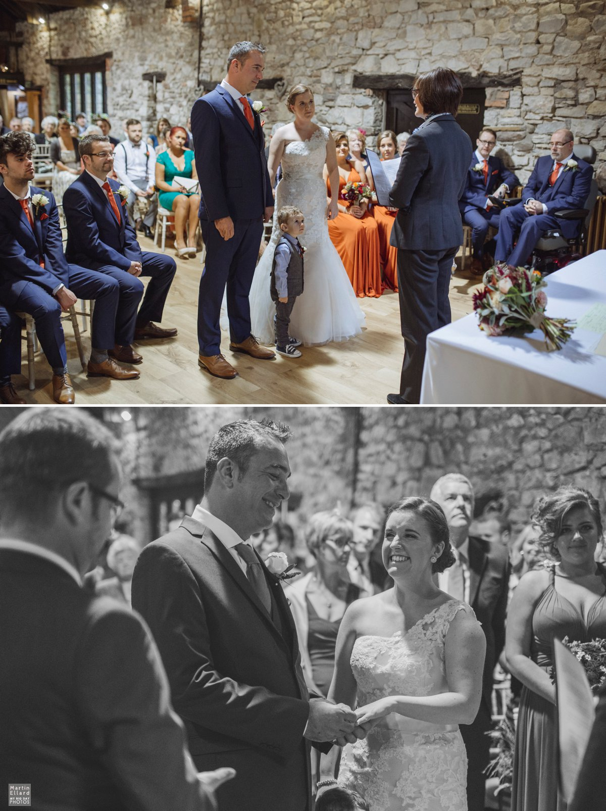 Pencoed House wedding ceremony
