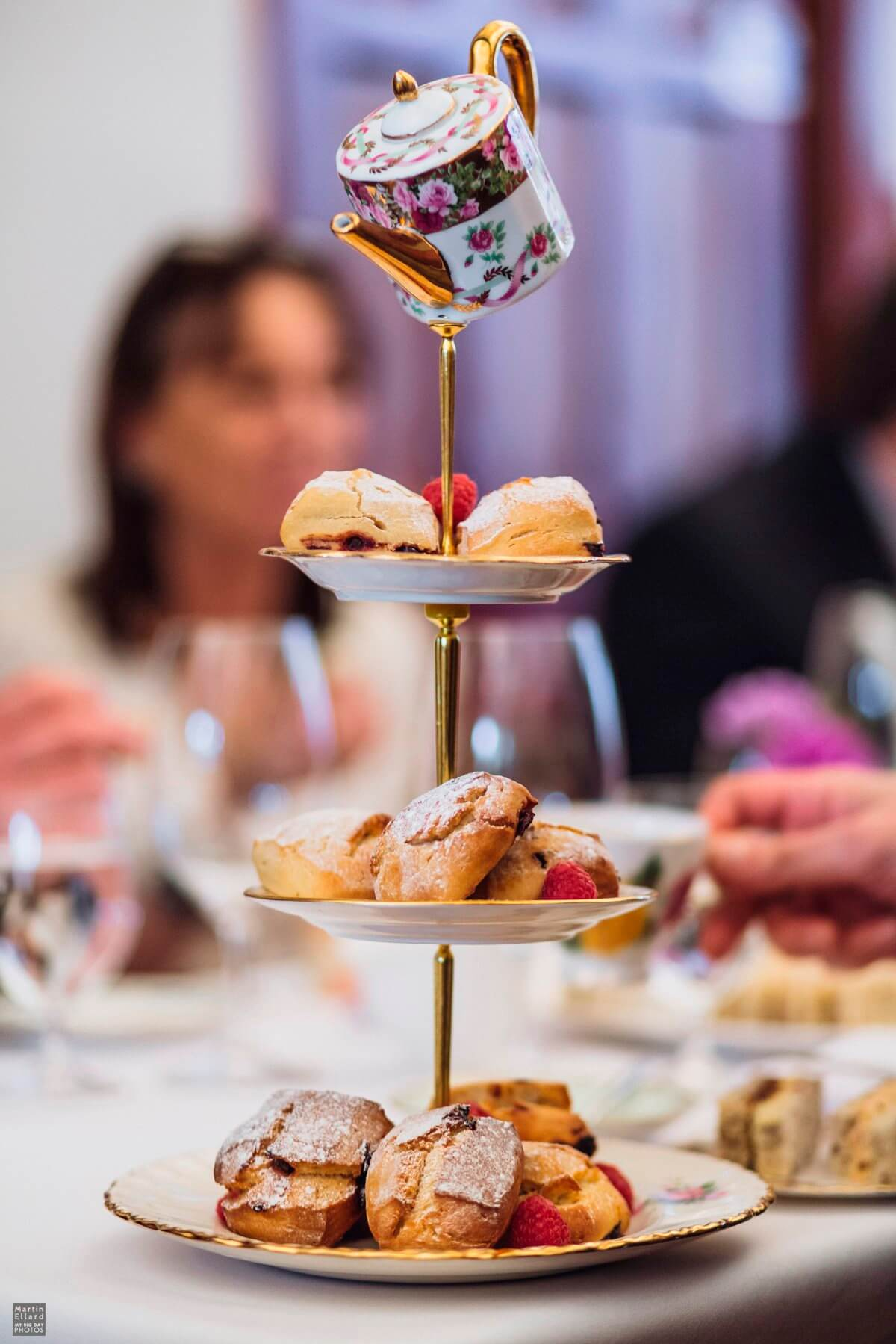 Cardiff vintage wedding afternoon tea