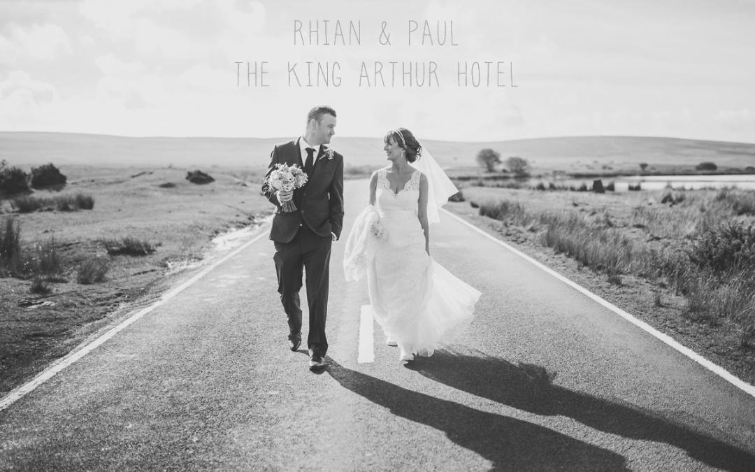 Rhian and Paul's King Arthur Hotel wedding