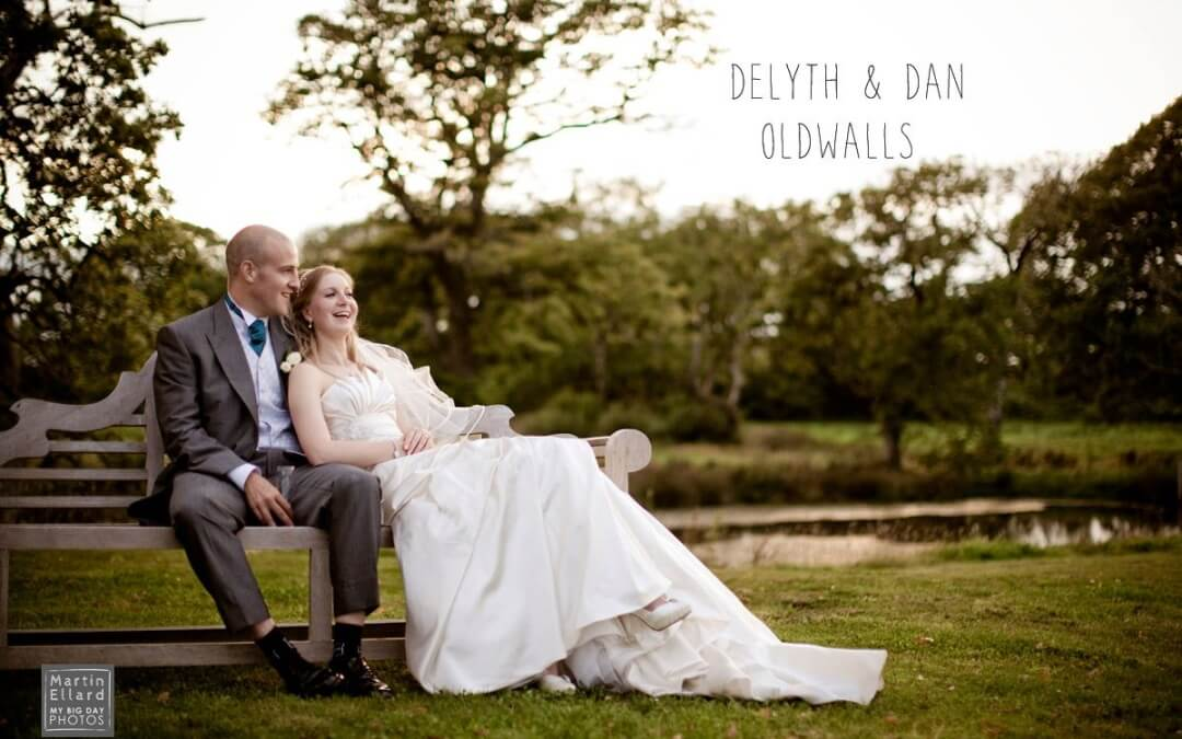Delyth and Dan's wedding day at Oldwalls, Gower