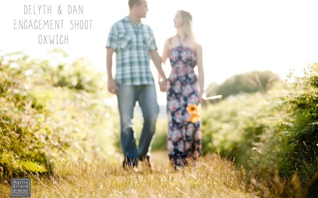 Delyth and Daniel's engagement photoshoot.
