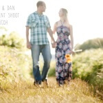 Oxwich Bay engagement shoot