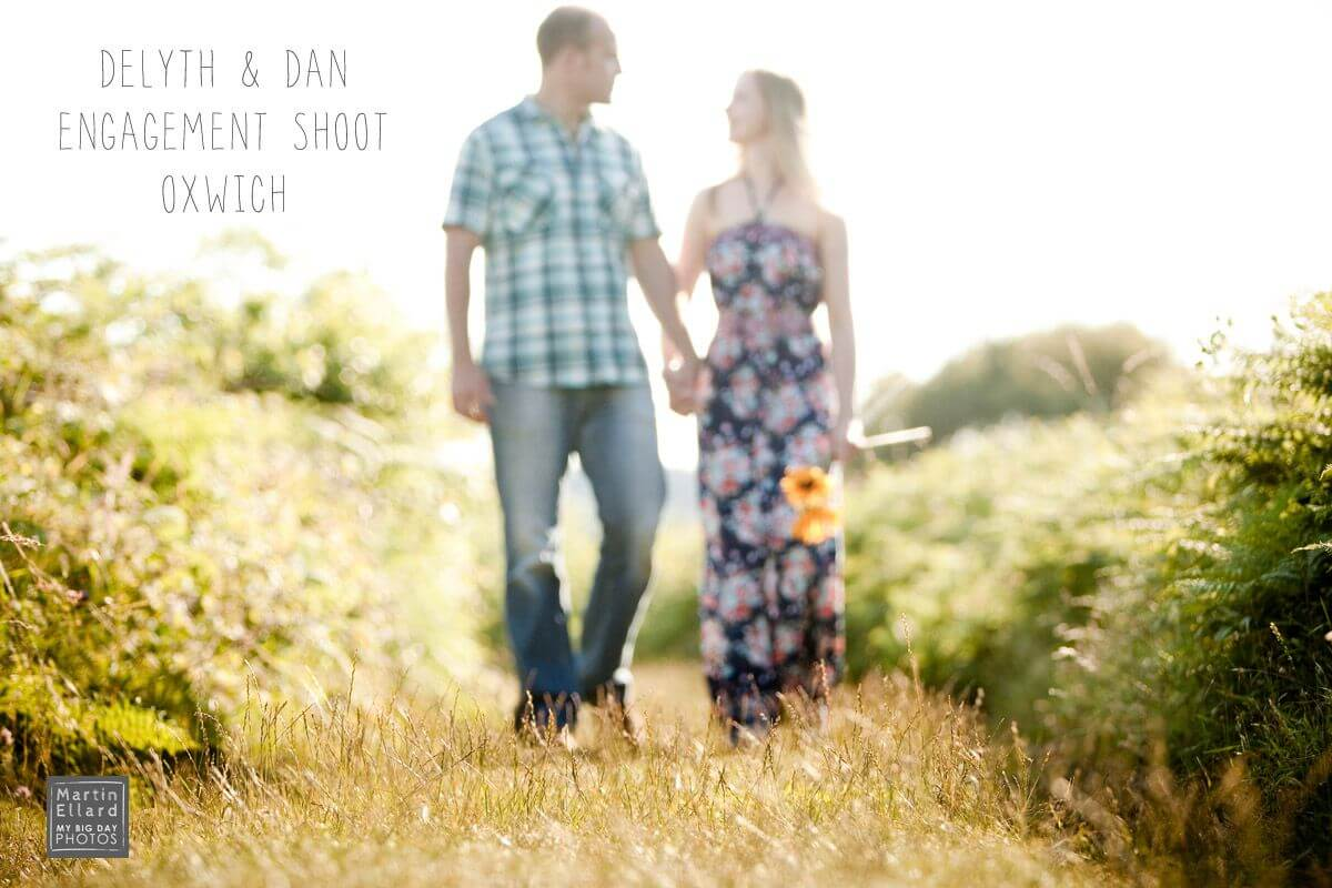 Oxwich Bay engagement shoot Gower