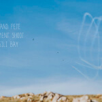 Engagement shoot Rhossili bay Swansea wedding photographer