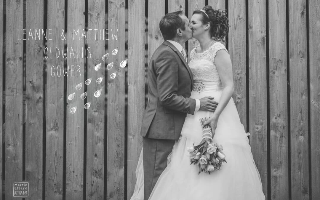 Leanne and Matthew Oldwalls Gower Swansea wedding
