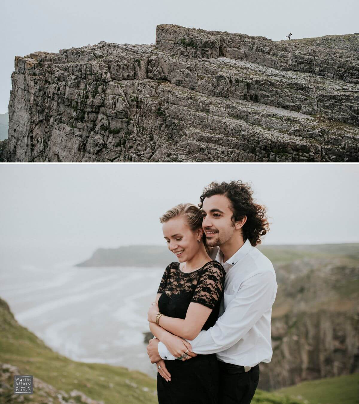 couple shoot gower wedding photographer