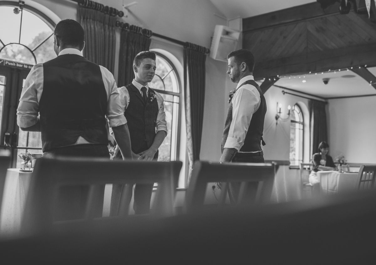 The King Arthur Hotel wedding photography