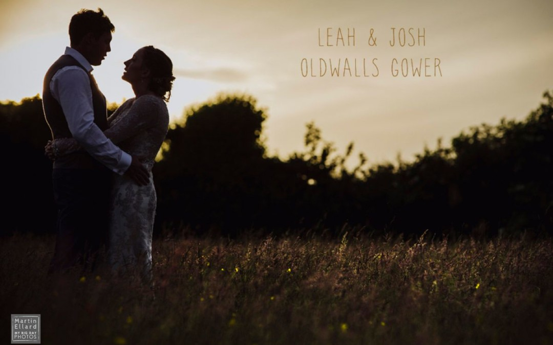 Leah and Josh Oldwalls Gower wedding photographer