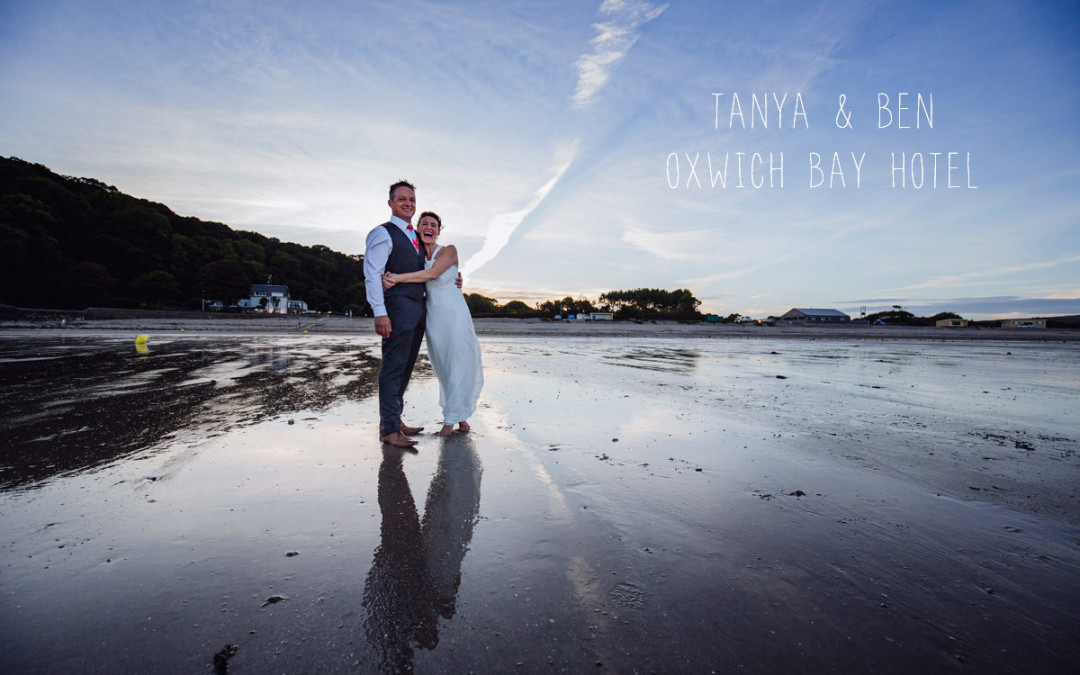 Oxwich Bay Hotel wedding photographer