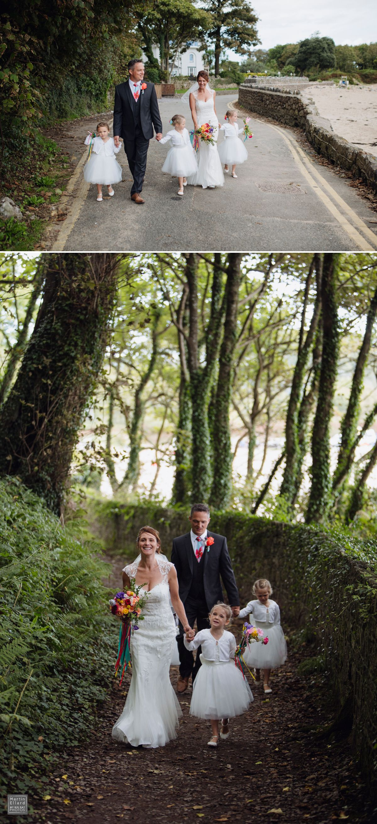 Oxwich Bay Wedding photographer Swansea South Wales