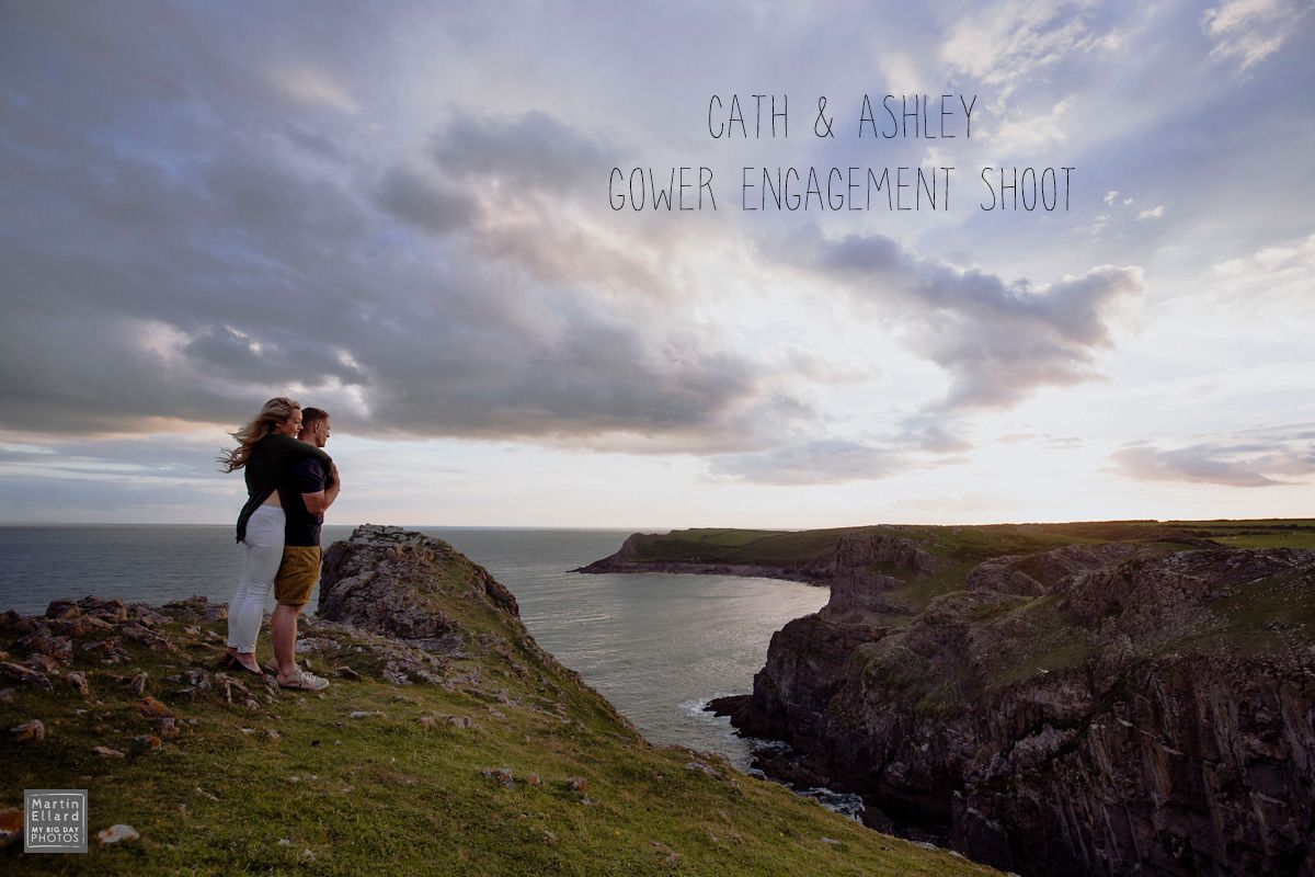 Cath Ashley engagement shoot Gower