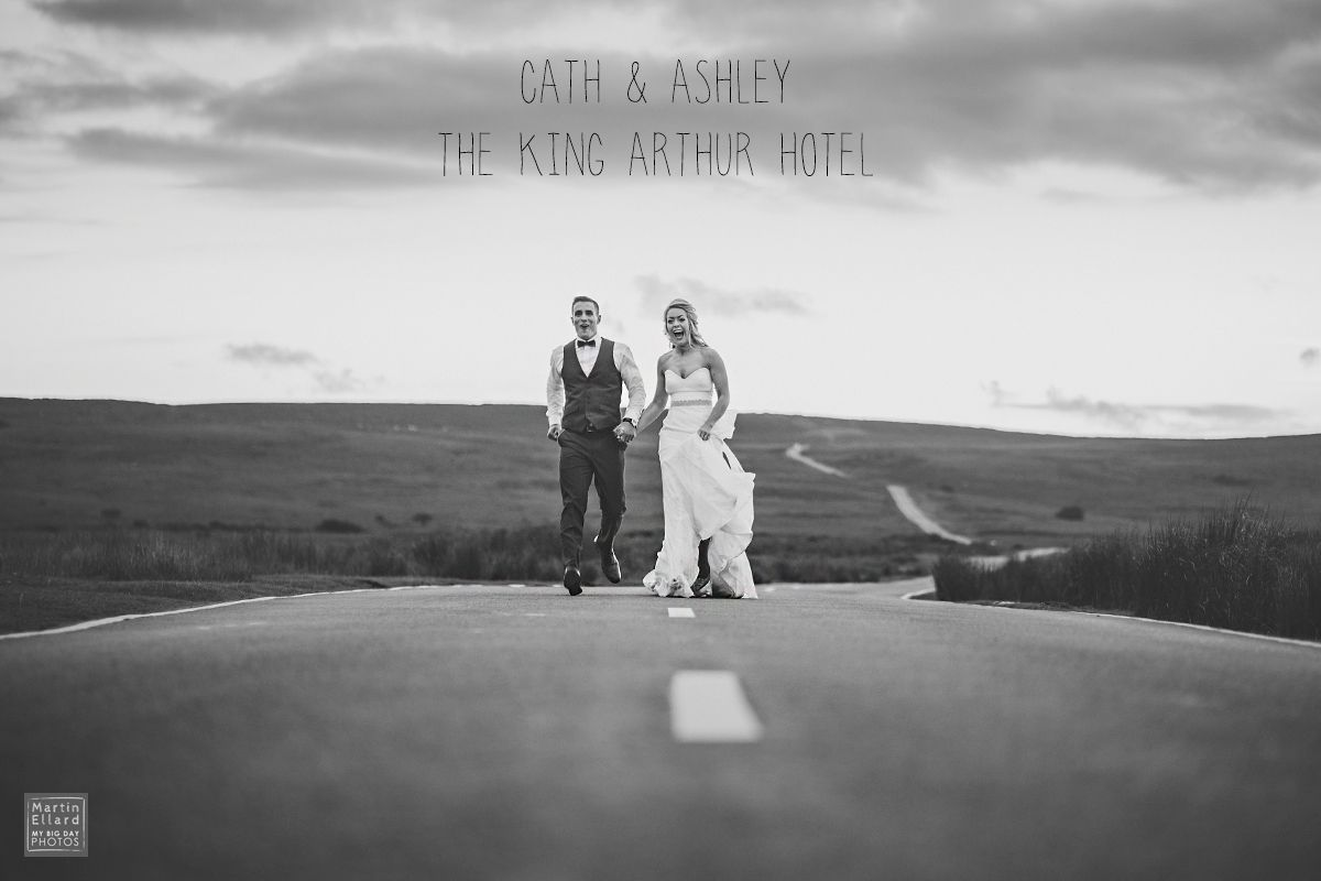 Cath and Ashley King Arthur Hotel wedding