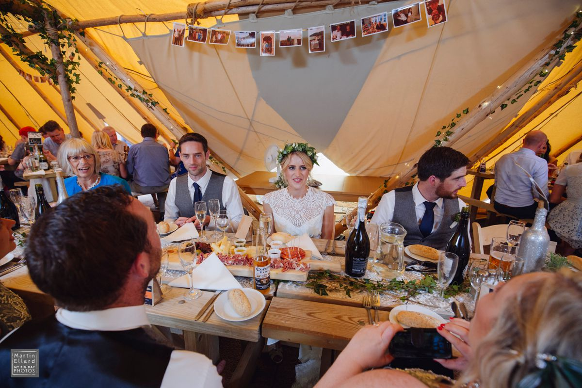 welsh tipi wedding photography
