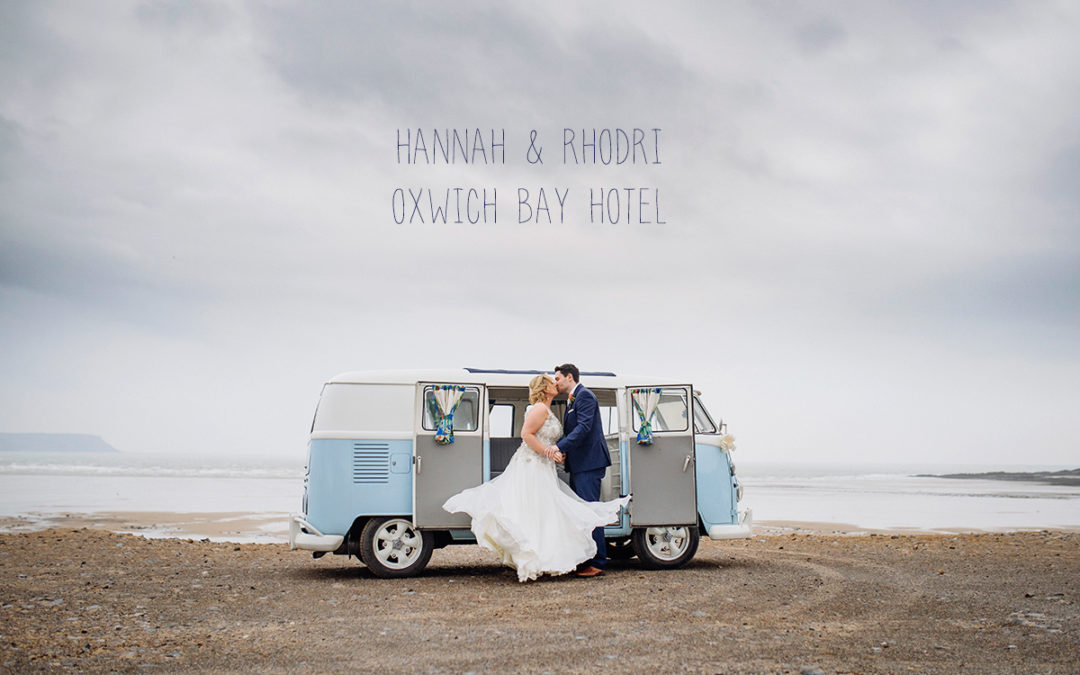 Hannah and Rhodri Oxwich Bay Hotel