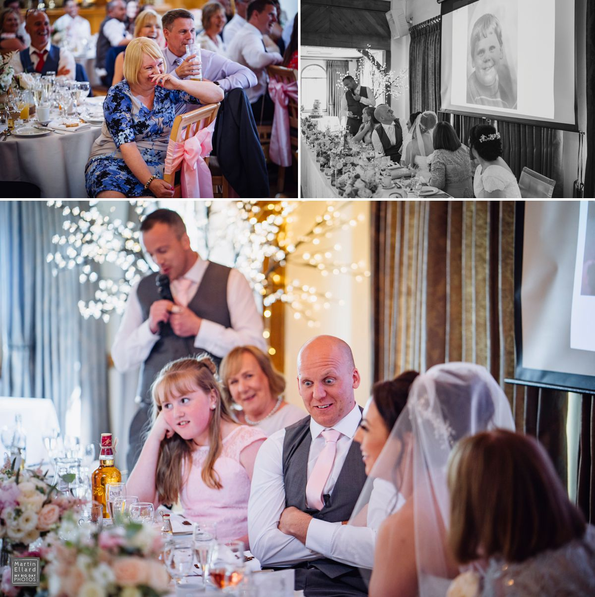 The King Arthur Hotel wedding photographer