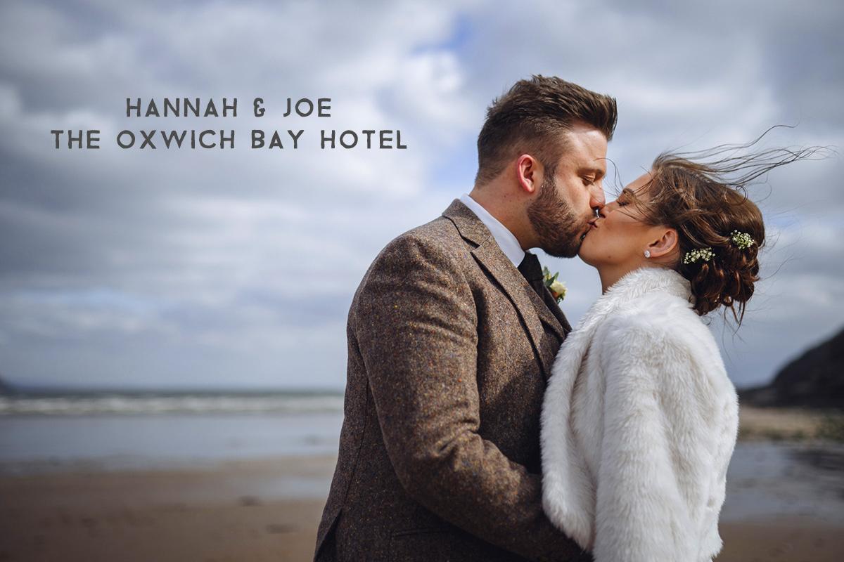 Oxwich Bay wedding photographer
