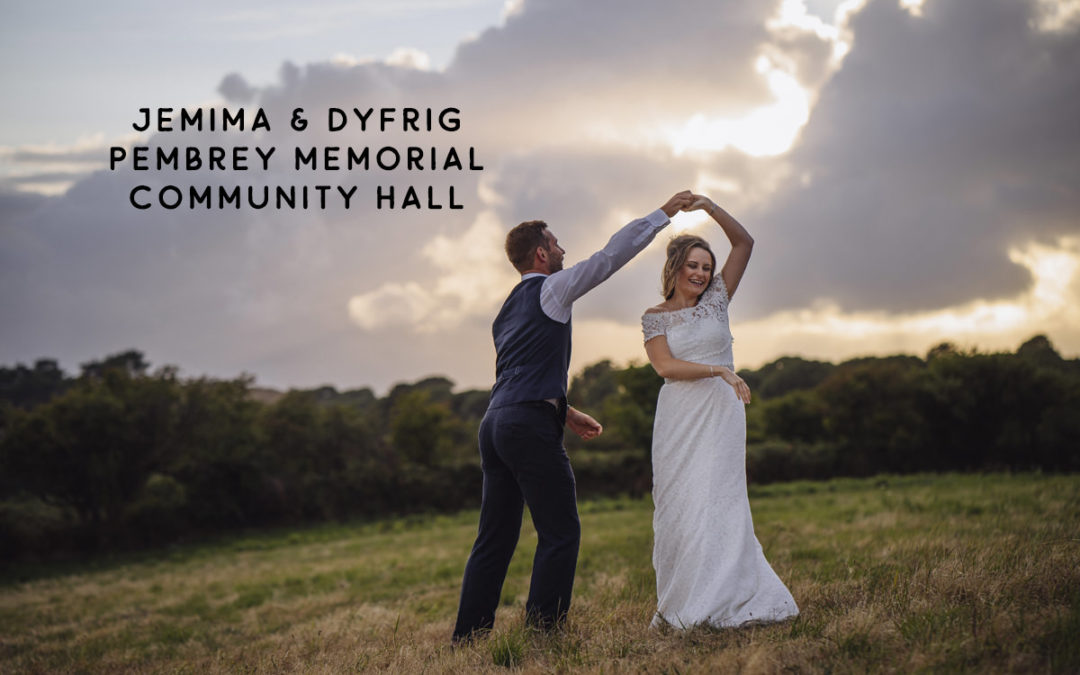 Community hall wedding venue Pembrey