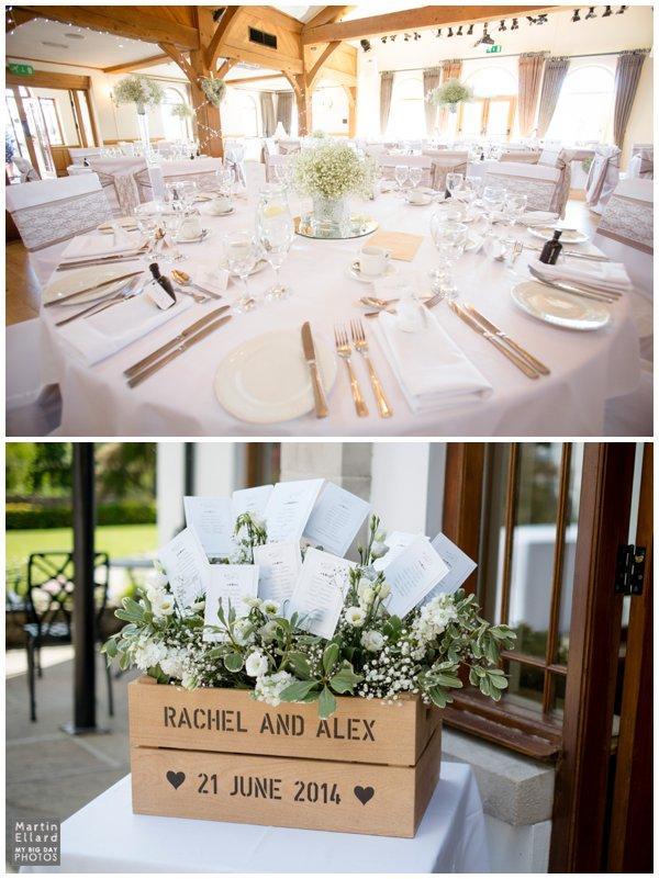 vintage wedding table plan