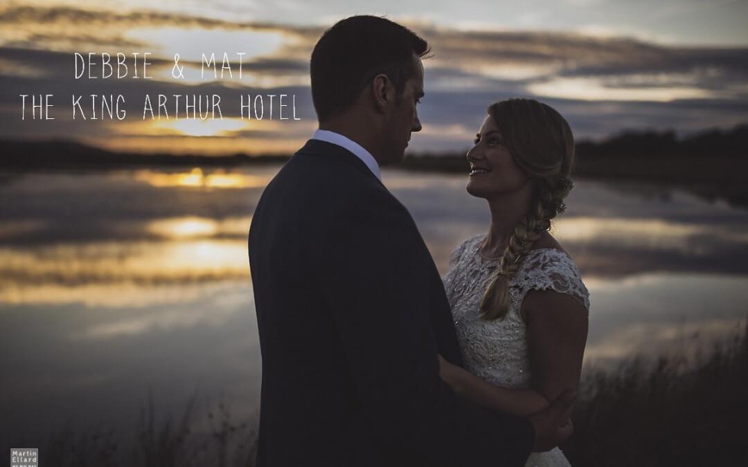 Debbie and Mat's King Arthur Hotel wedding