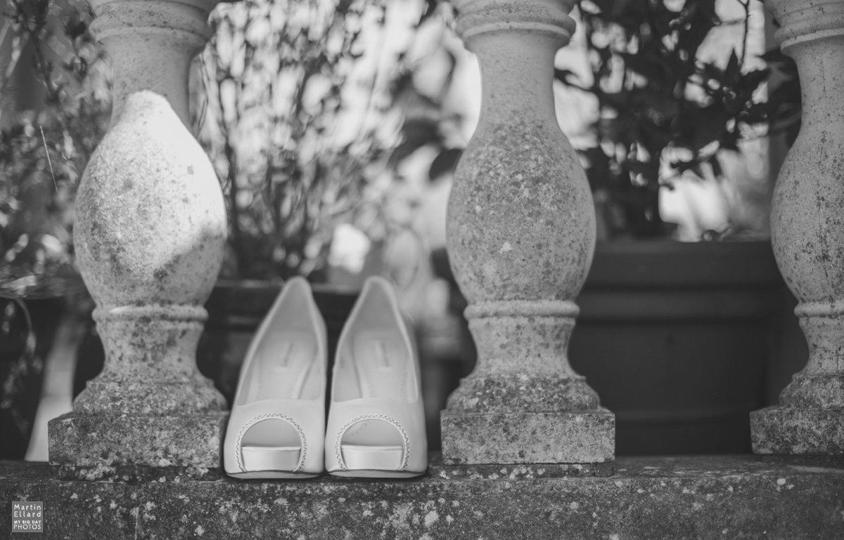 white wedding shoes Gower wedding