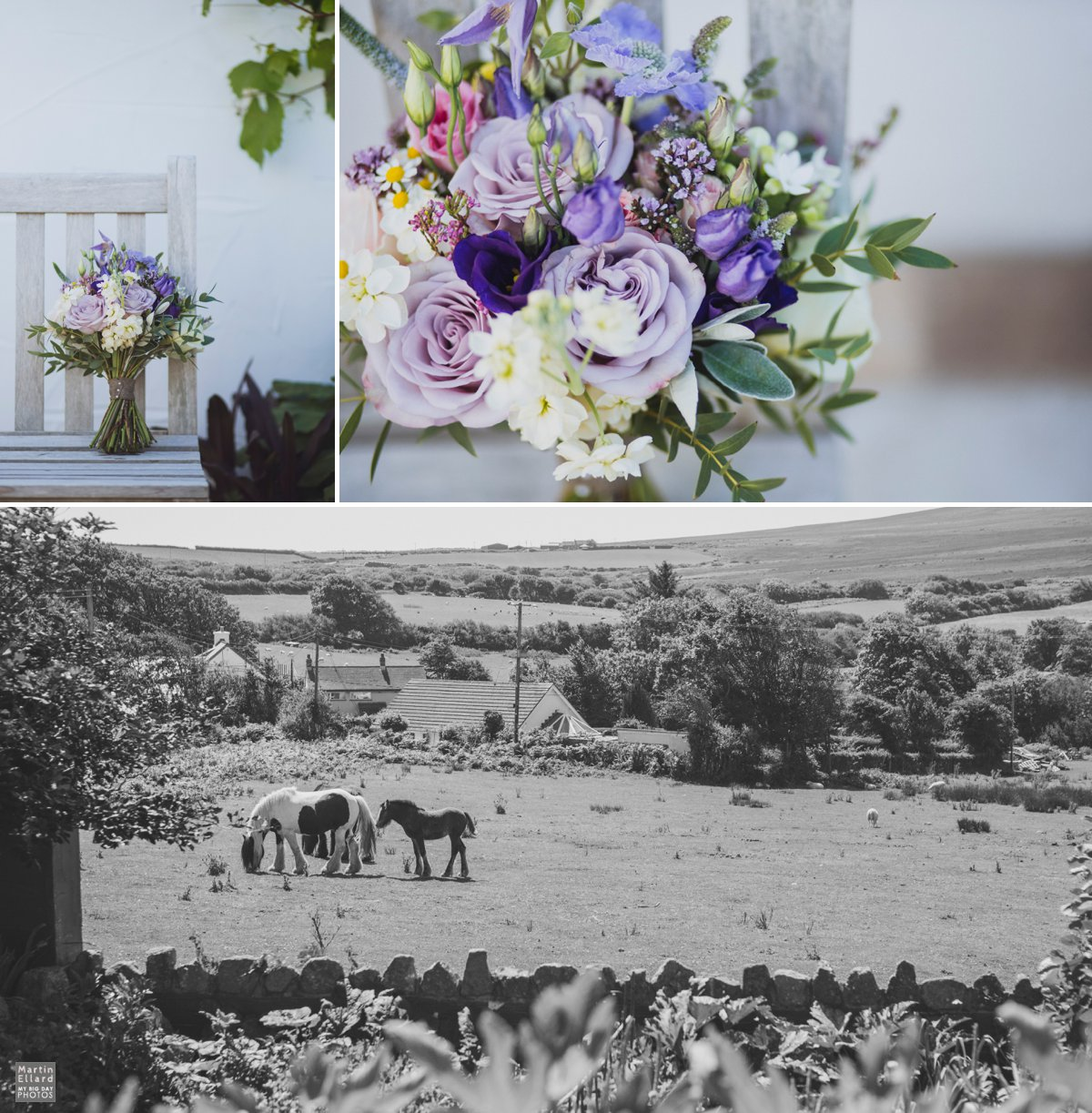lilac wedding flowers summer Gower