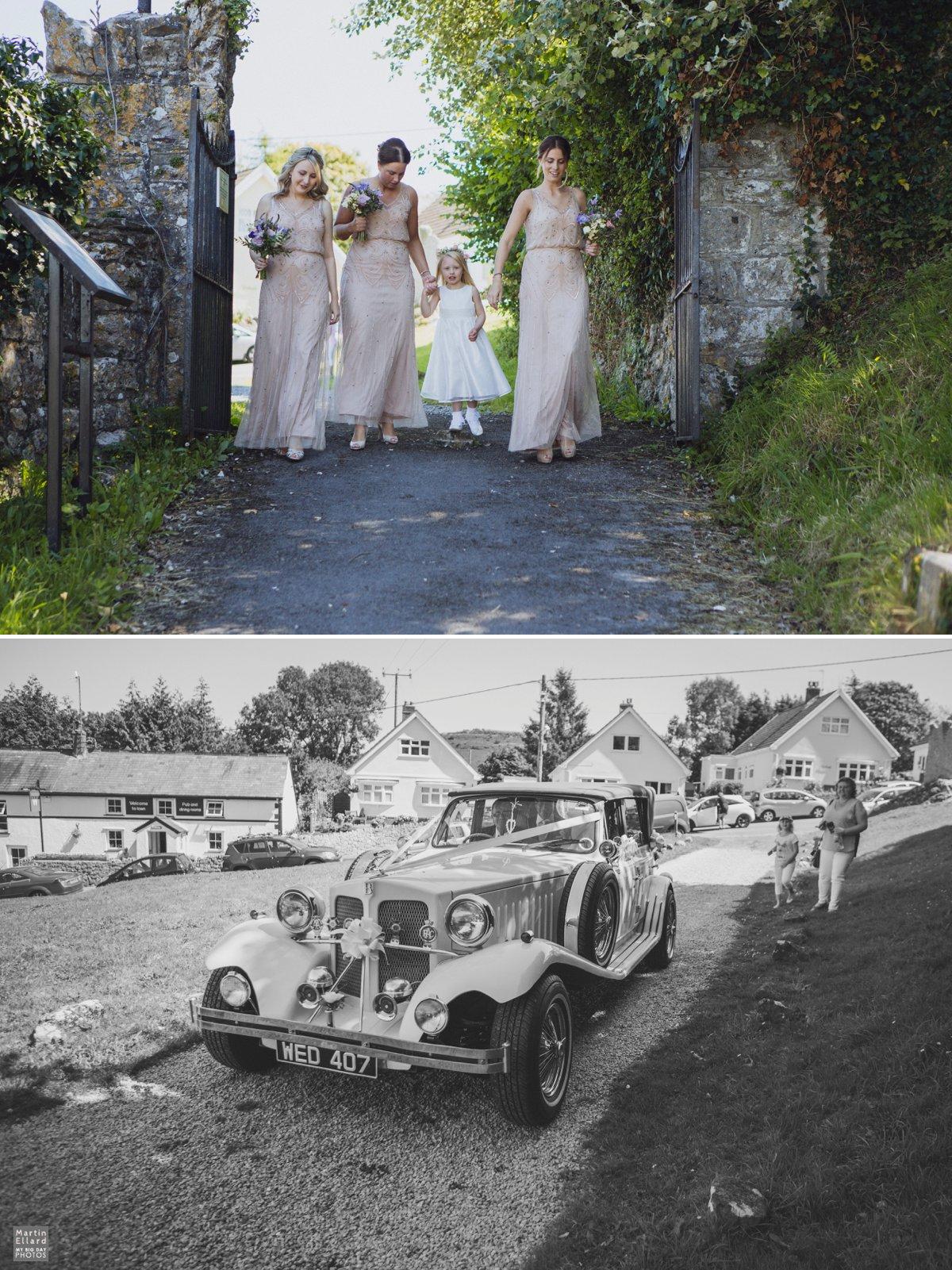 Llanrhidian church wedding Gower photographer