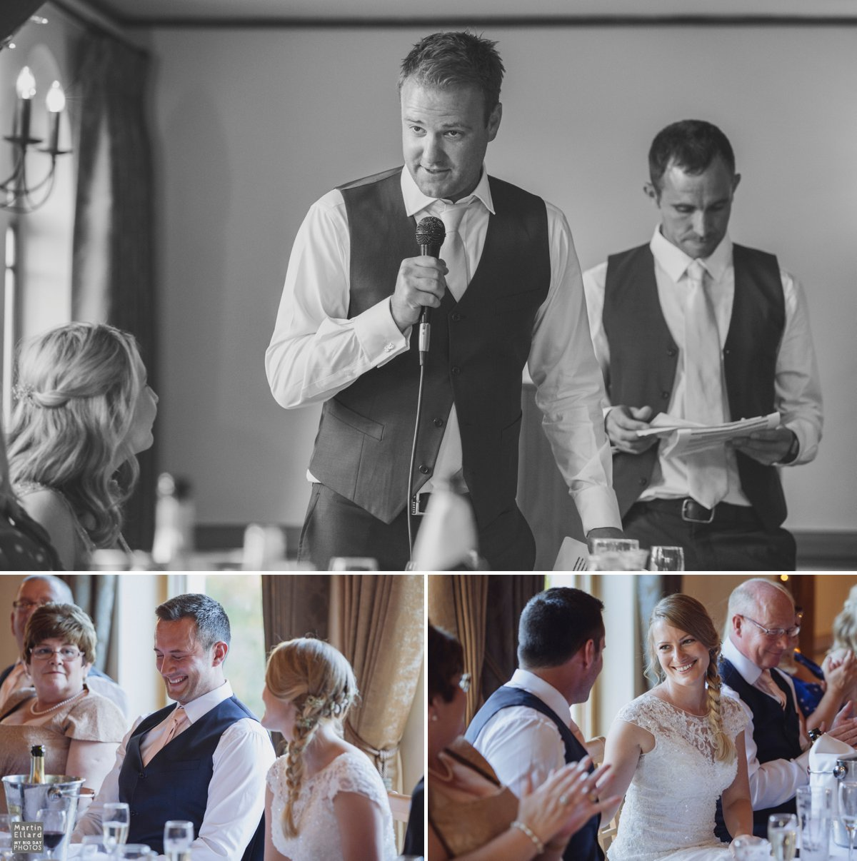 best man speech King Arthur Hotel wedding