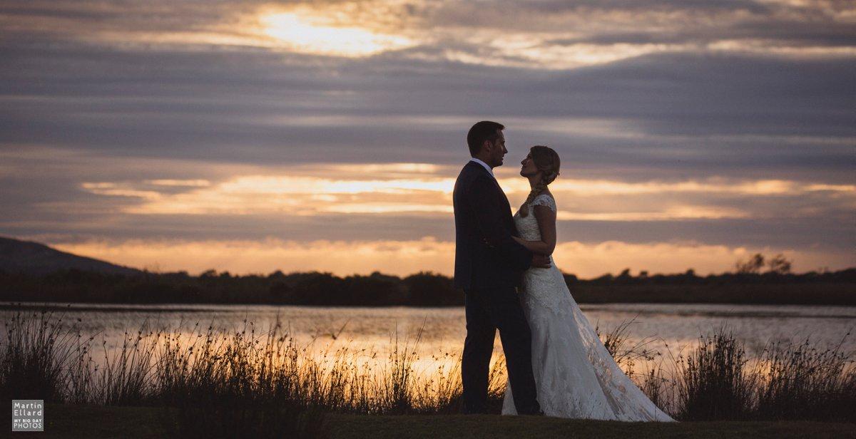 broadpool wedding photography Gower sunset