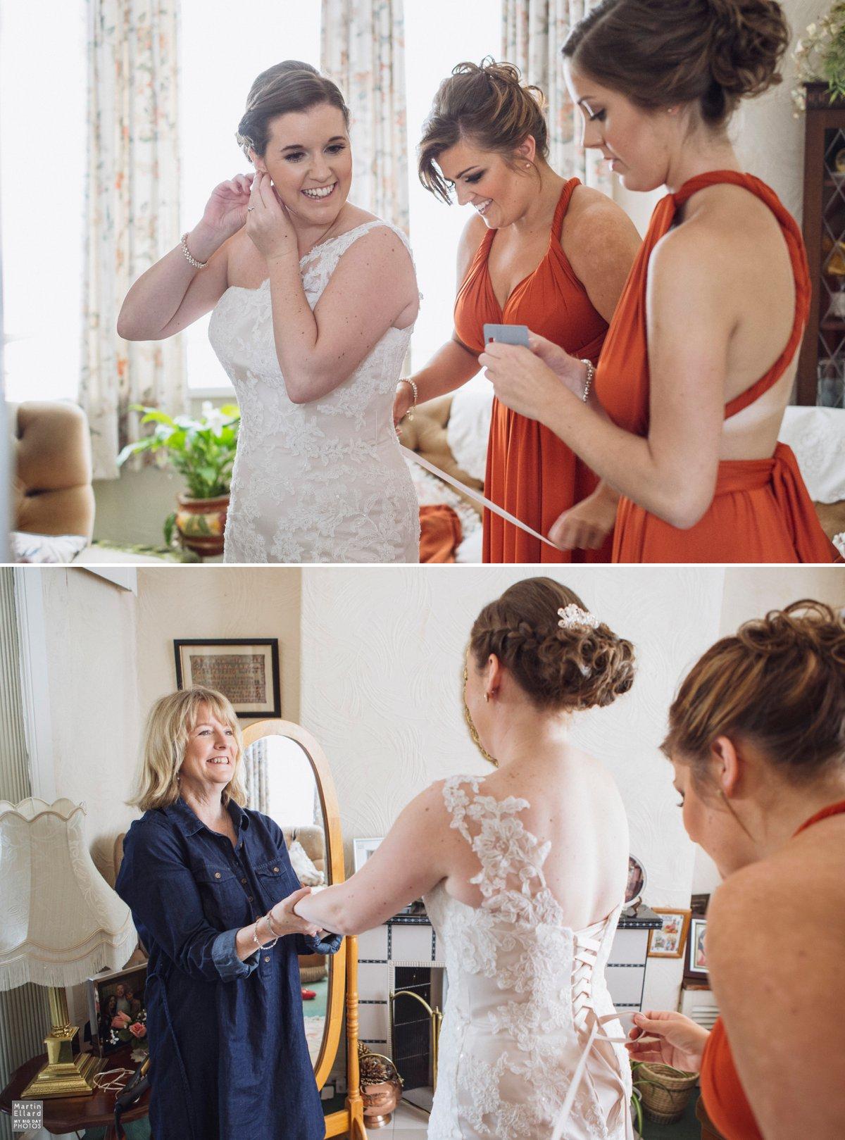 mulitway bridesmaids dress burnt orange autumn colours