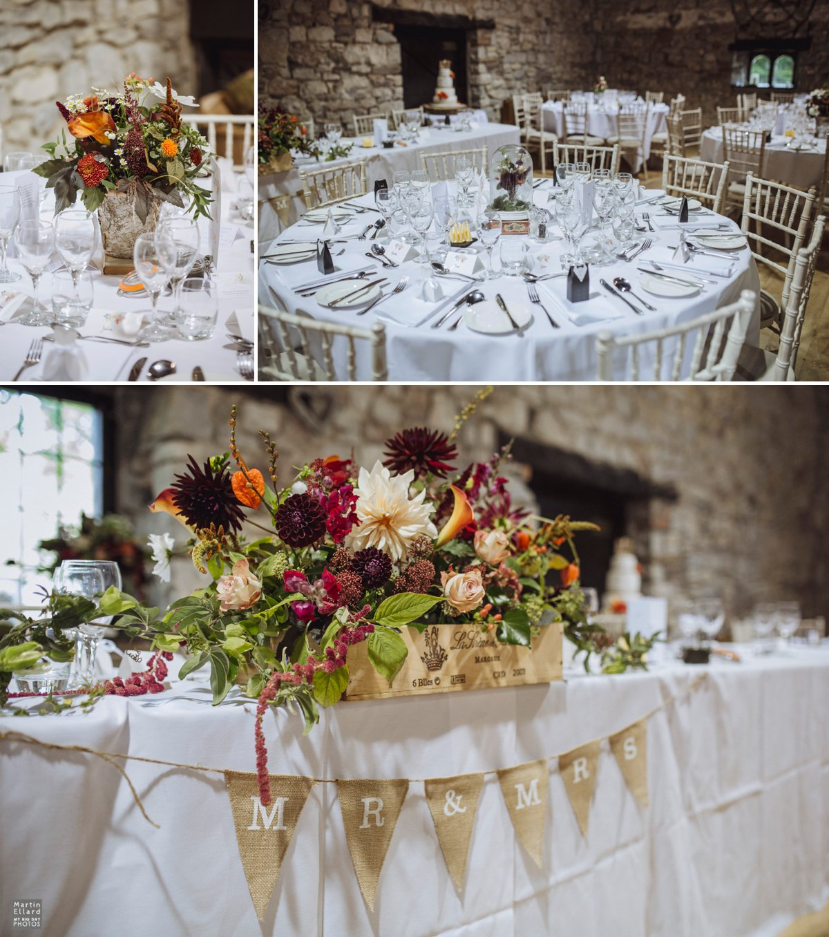 rustic wedding table centerpiece