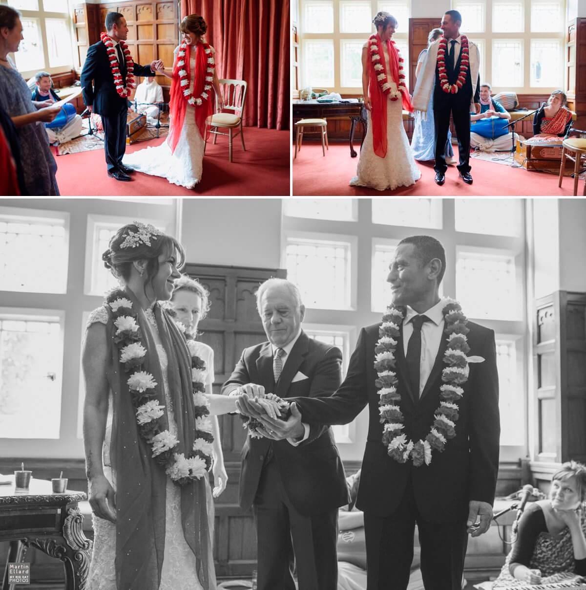 Hare Krishna wedding ceremony Cardiff photography