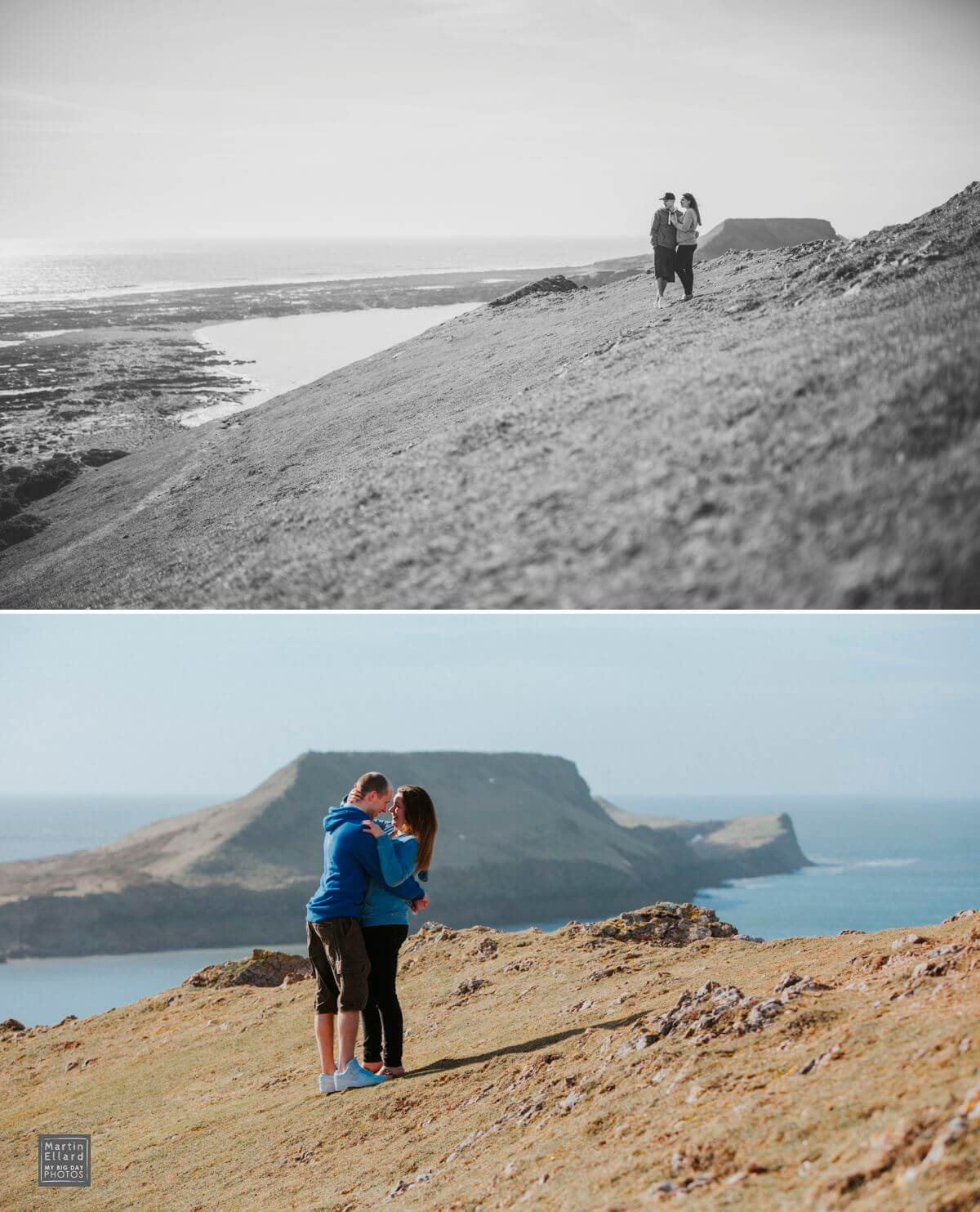 gower engagement shoot worms head
