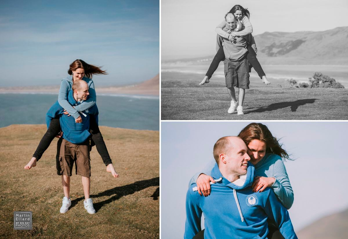 engagement shoot in South Wales