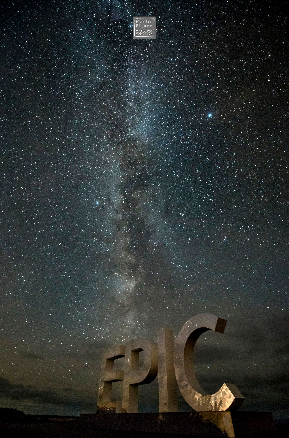 Milky Way photograph from Rhossili Bay Wales My Big Day Photos