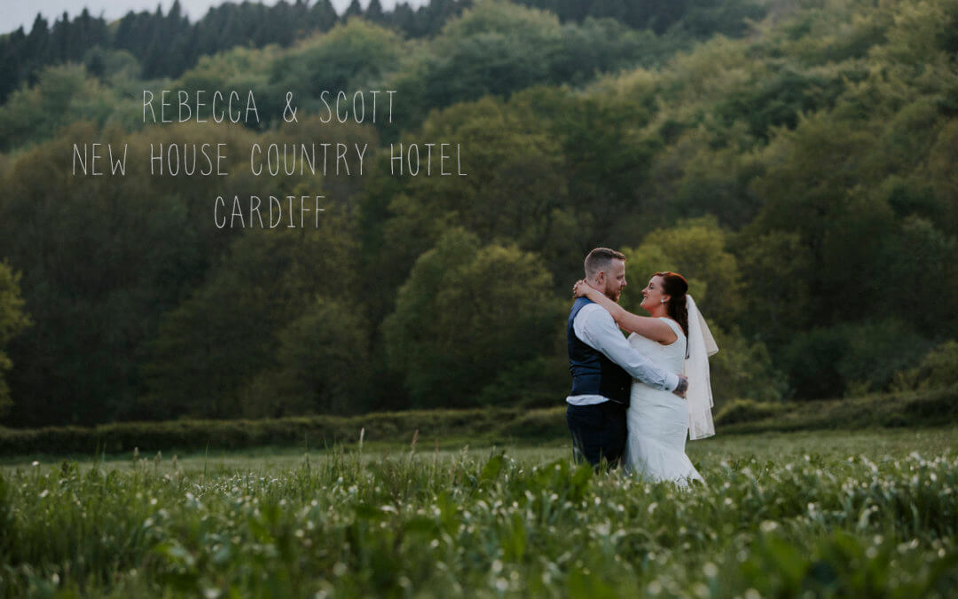 Rebecca and Scott New House Country Hotel Cardiff wedding