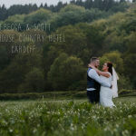 Rebecca and Scott's Cardiff wedding at the New House Country Hotel
