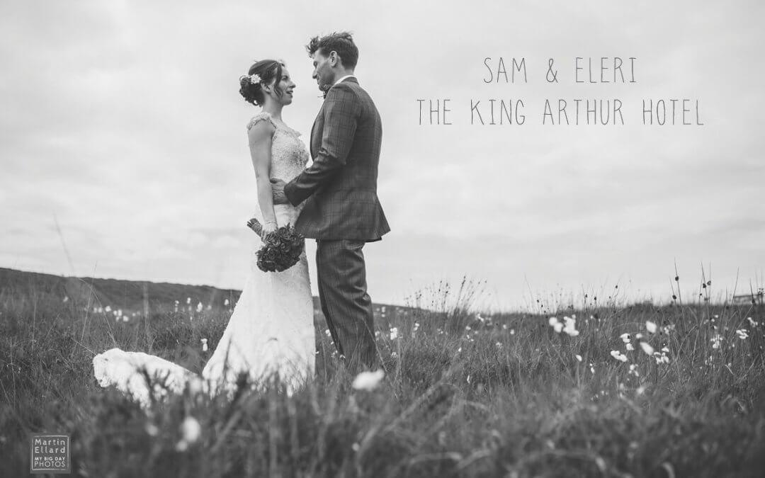 Sam and Eleri's King Arthur Hotel wedding