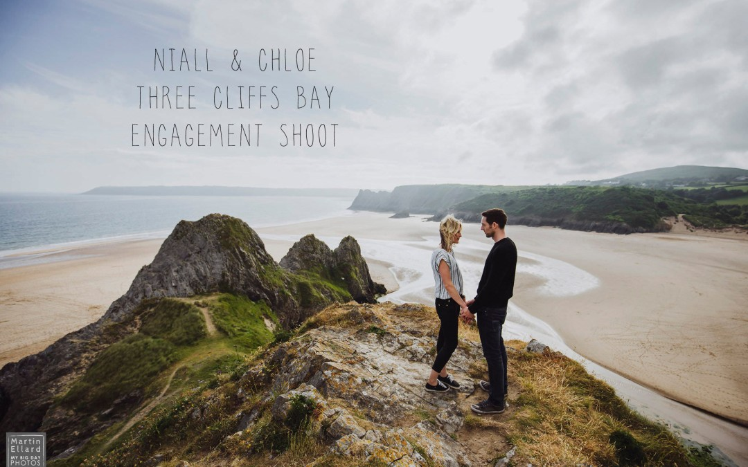 engagement shoot Three Cliffs Bay Gower