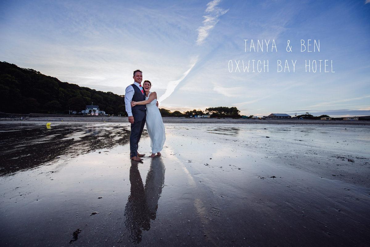 Oxwich Bay Hotel wedding photographer