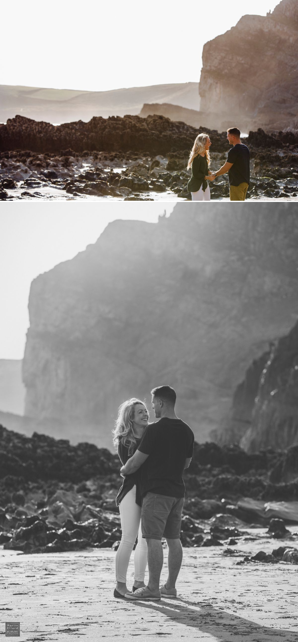 Cath Ashley engagement shoot Gower