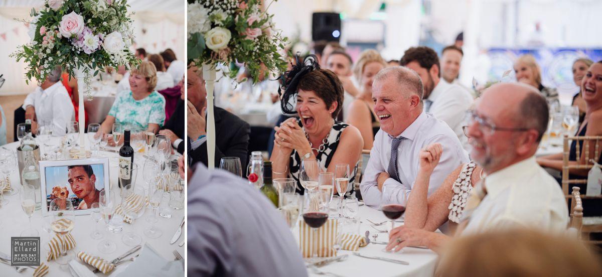 Claire Joseph Gower marquee Swansea wedding photograper