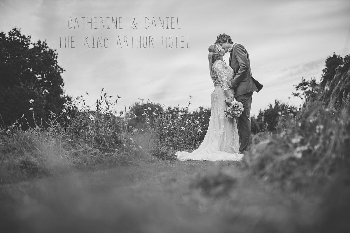 Catherine Daniel The King Arthur Hotel wedding
