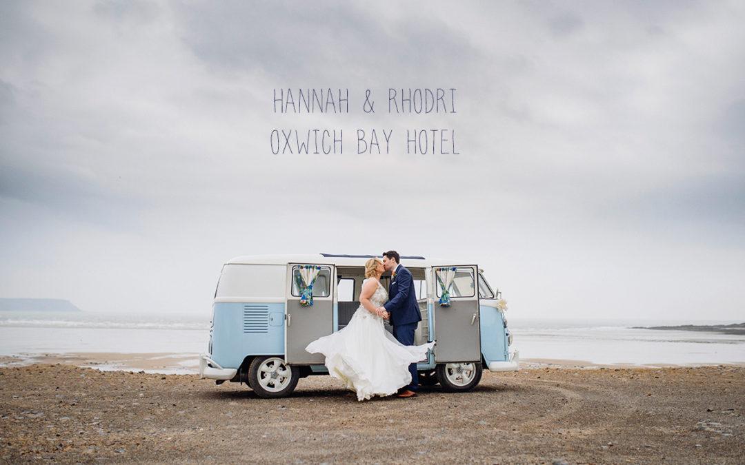 Hannah and Rhodri Oxwich Bay Hotel