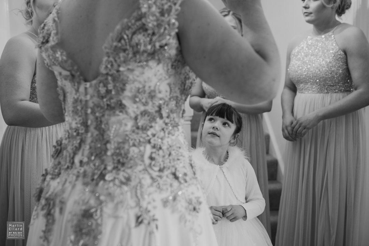 Stephanie Allin wedding dress photographer