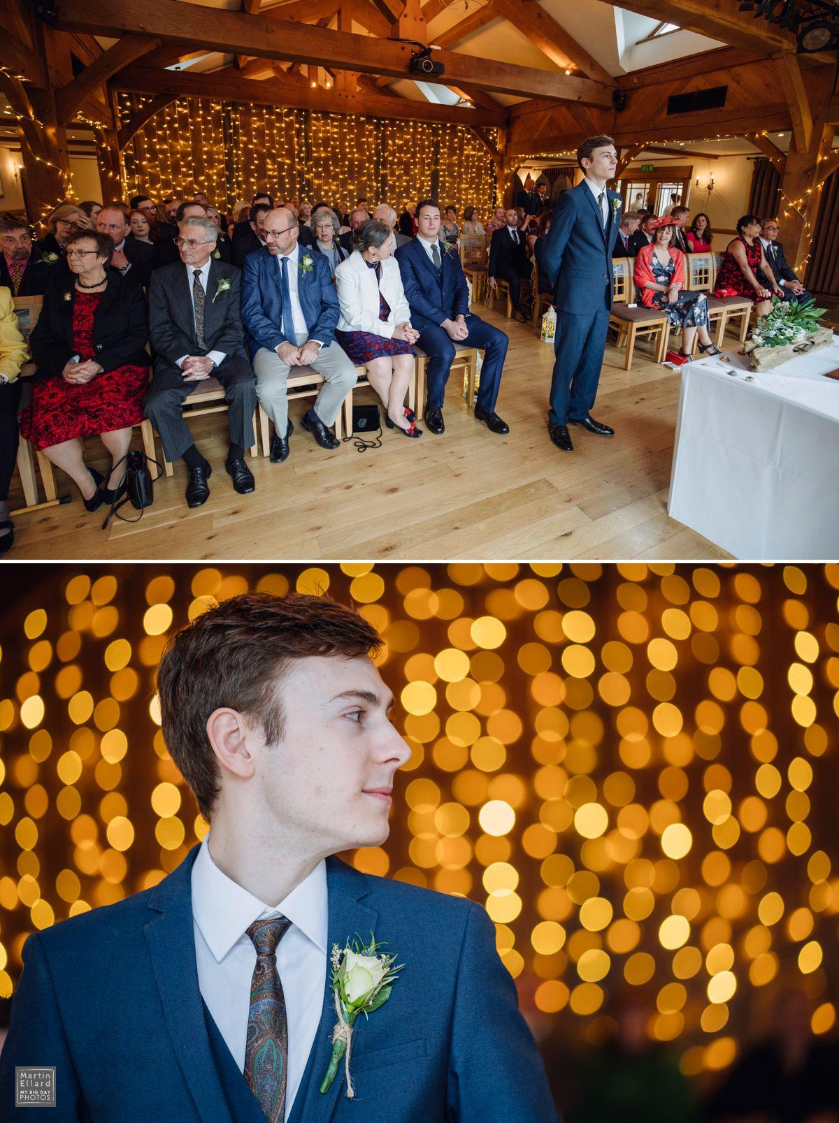 fairy lights at Welsh weddings