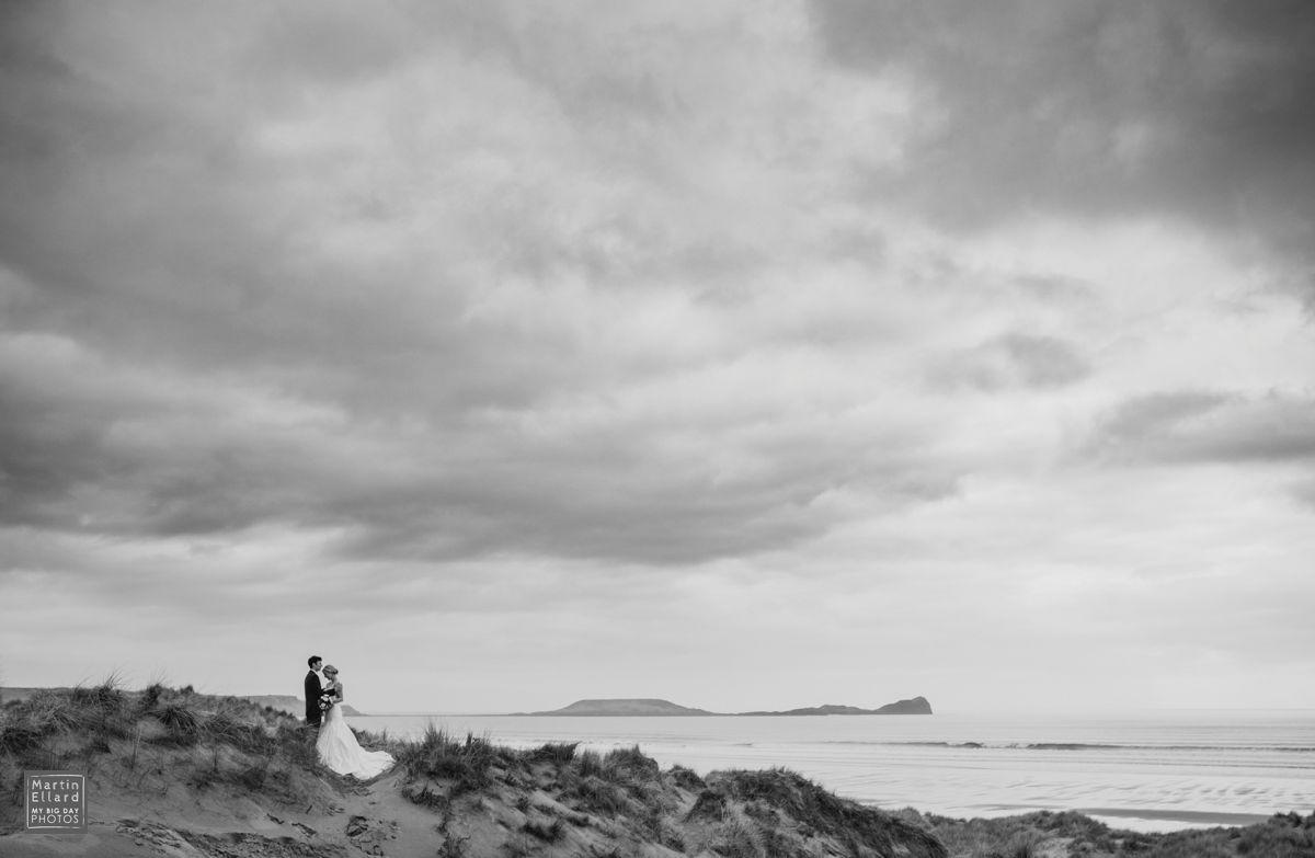 Tnatural wedding photography swansea