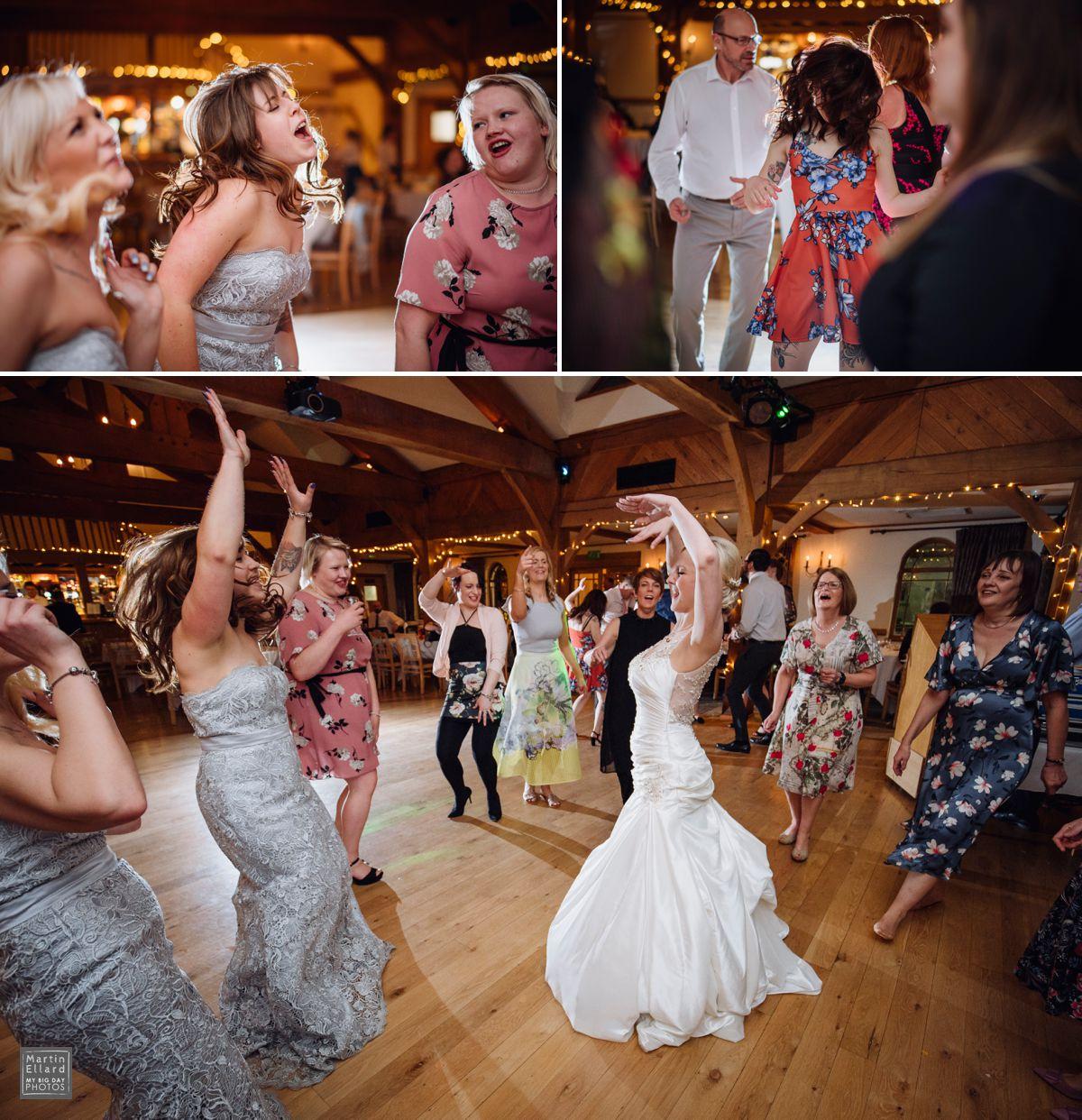 wedding dance floor mayhem